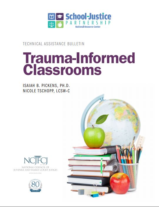 Trauma-Informed Classrooms publication cover